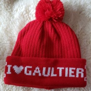 Jean Paul gautier red hat winter new without tag